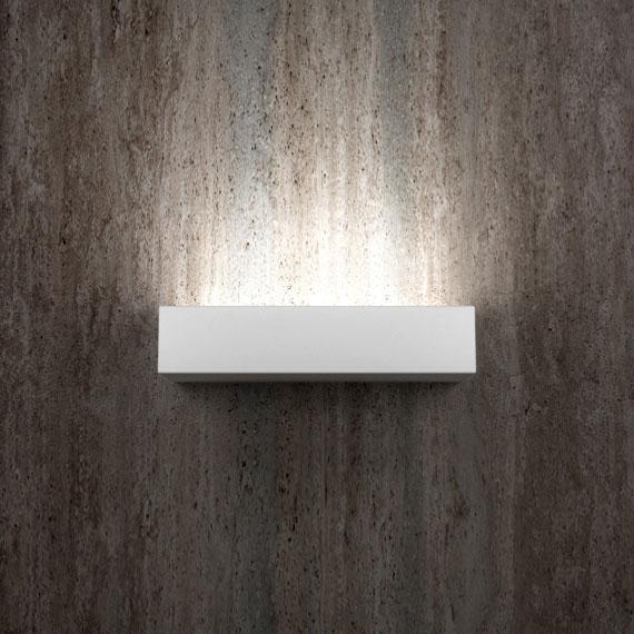 Applique in gesso ledessenzialed illuminazione a led - Applique in gesso da parete ...