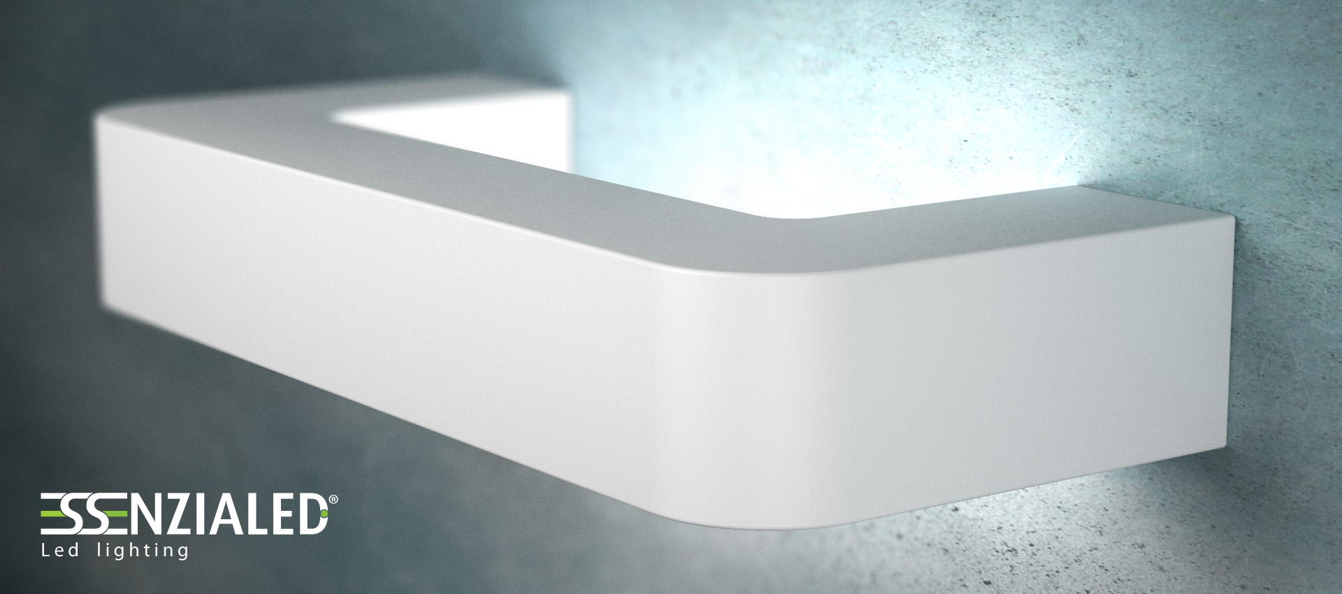 Applique in gesso a LED Deck - Essenzialed - Made in ...
