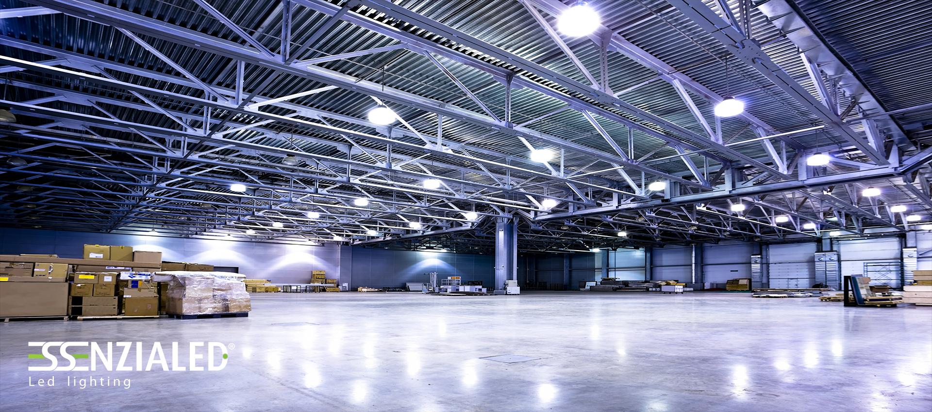 Illuminazione Industriale Led: Illuminazione industriale led round per.