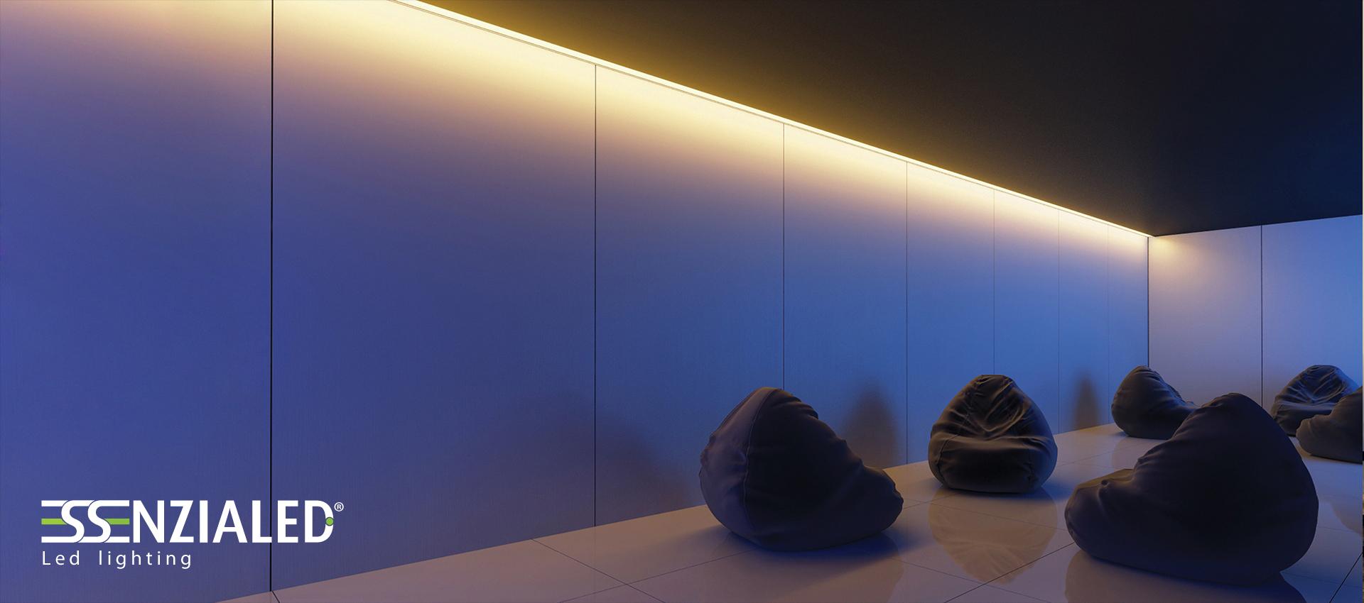 Illuminazione per hotel a led realizzata su for Illuminazione a led per casa
