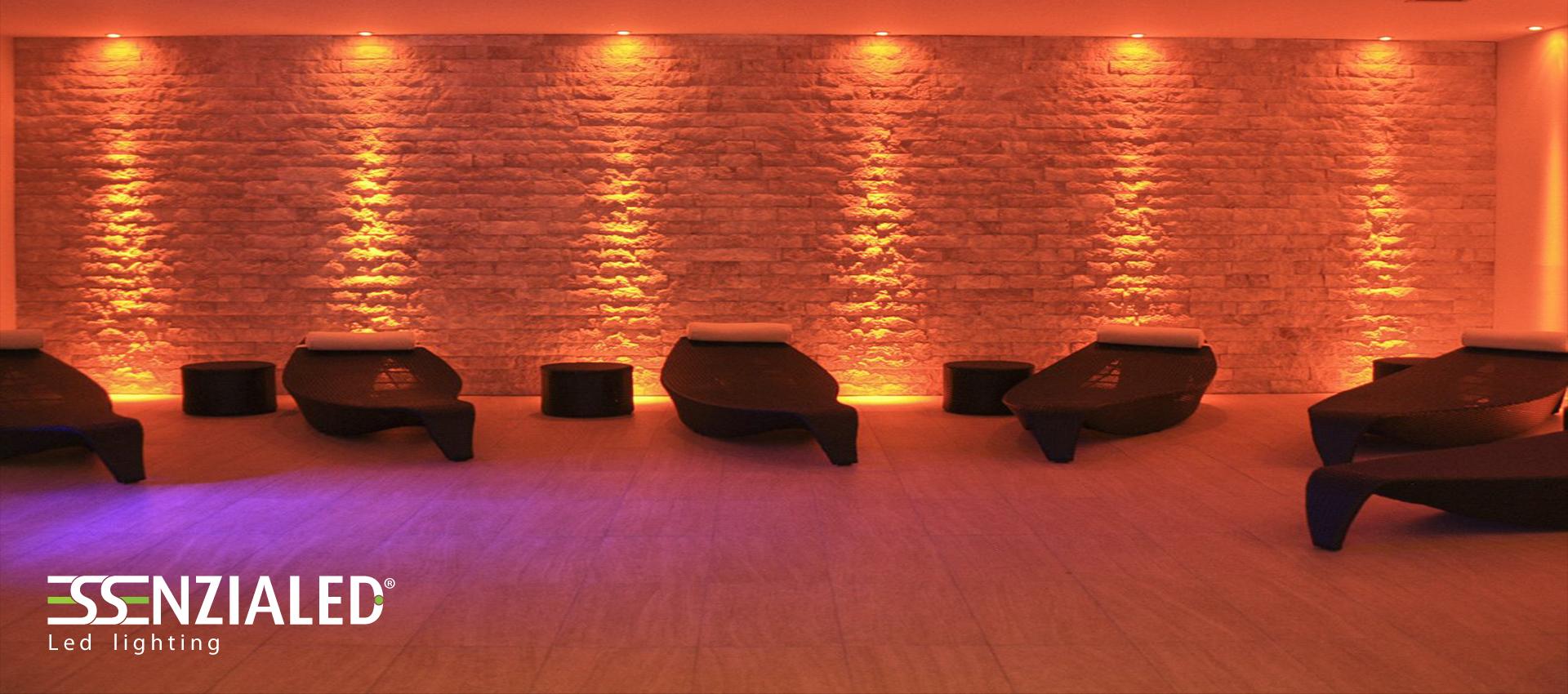 illuminazione per hotel a Led realizzata su misuraEssenzialed – Illuminazione a led