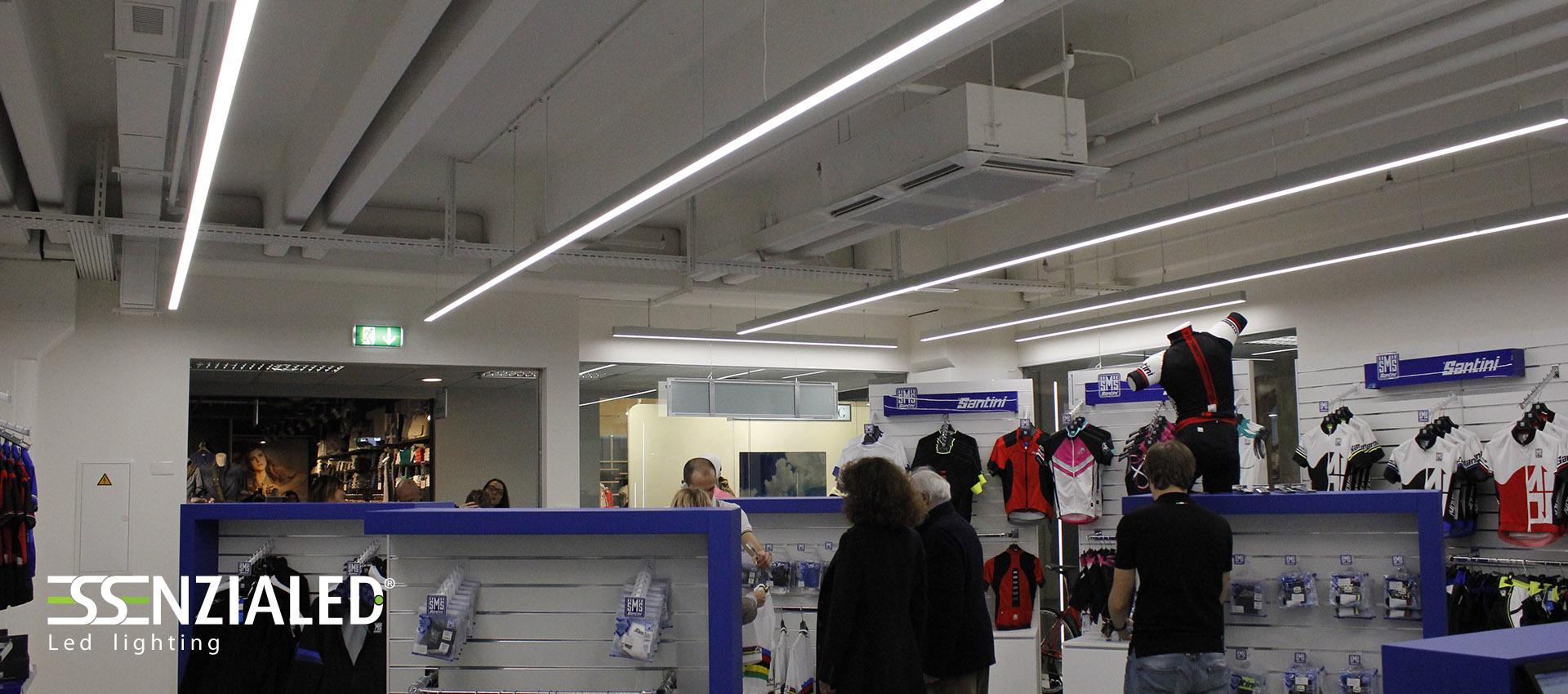illuminazione led per negozi made in italy