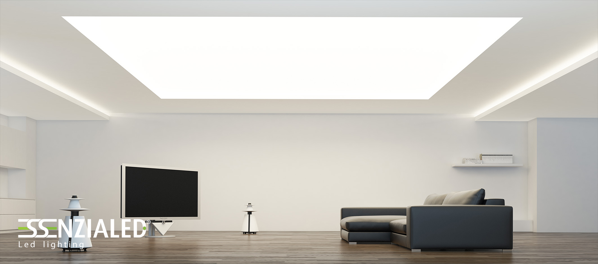 Luci a led per soffitto gi46 pineglen for Illuminazione a led