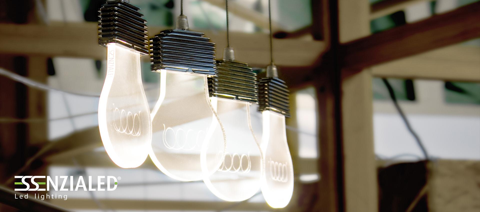 Cara vecchia lampadina sospensione   essenzialed   illuminazione a ...