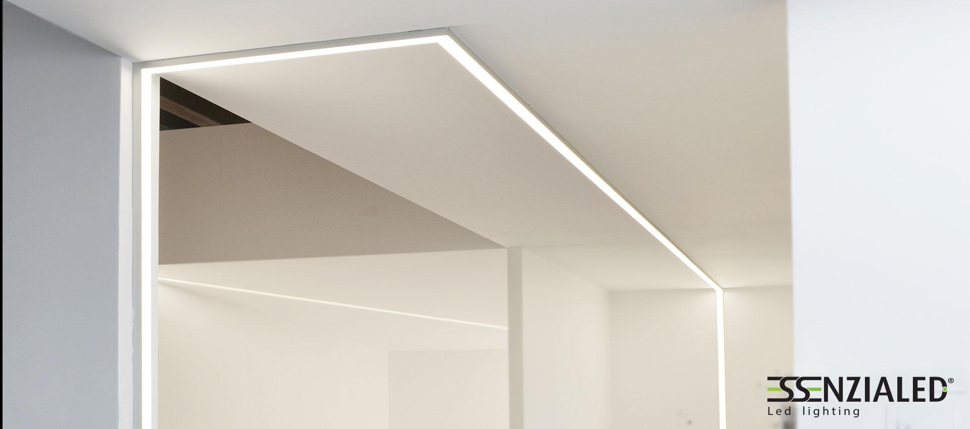 Illuminazione Bagno A Parete linee di luce a parete - essenzialed - illuminazione a