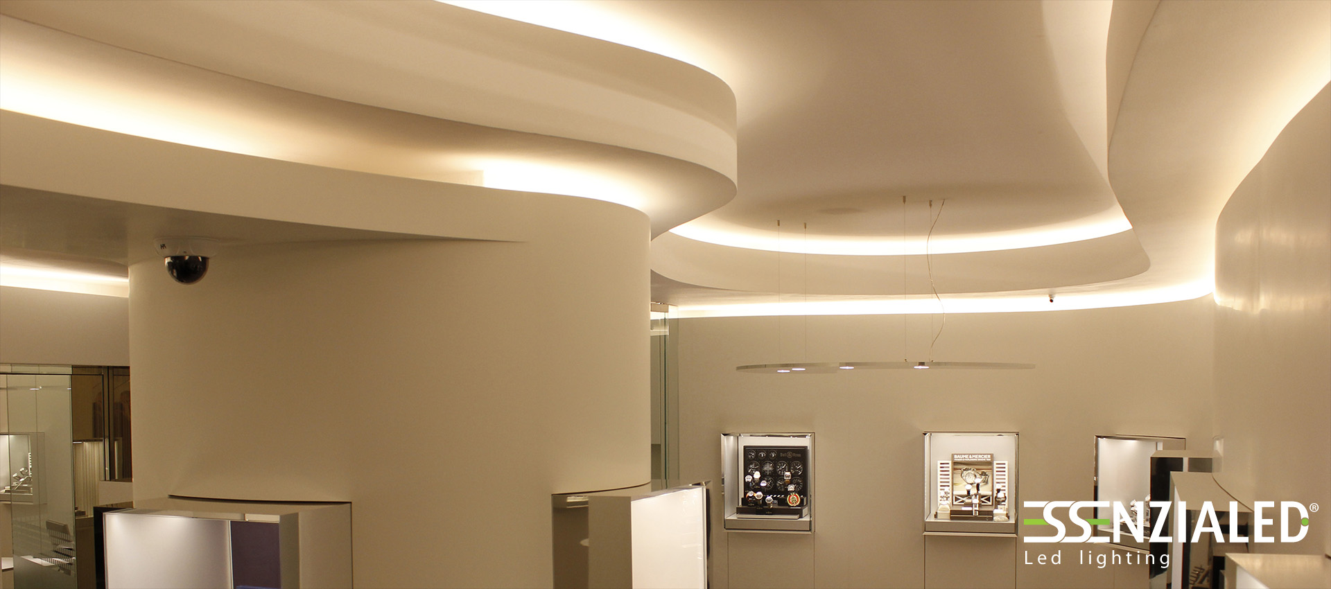 Illuminazione led per negozi made in italy for Faretti al led per interni