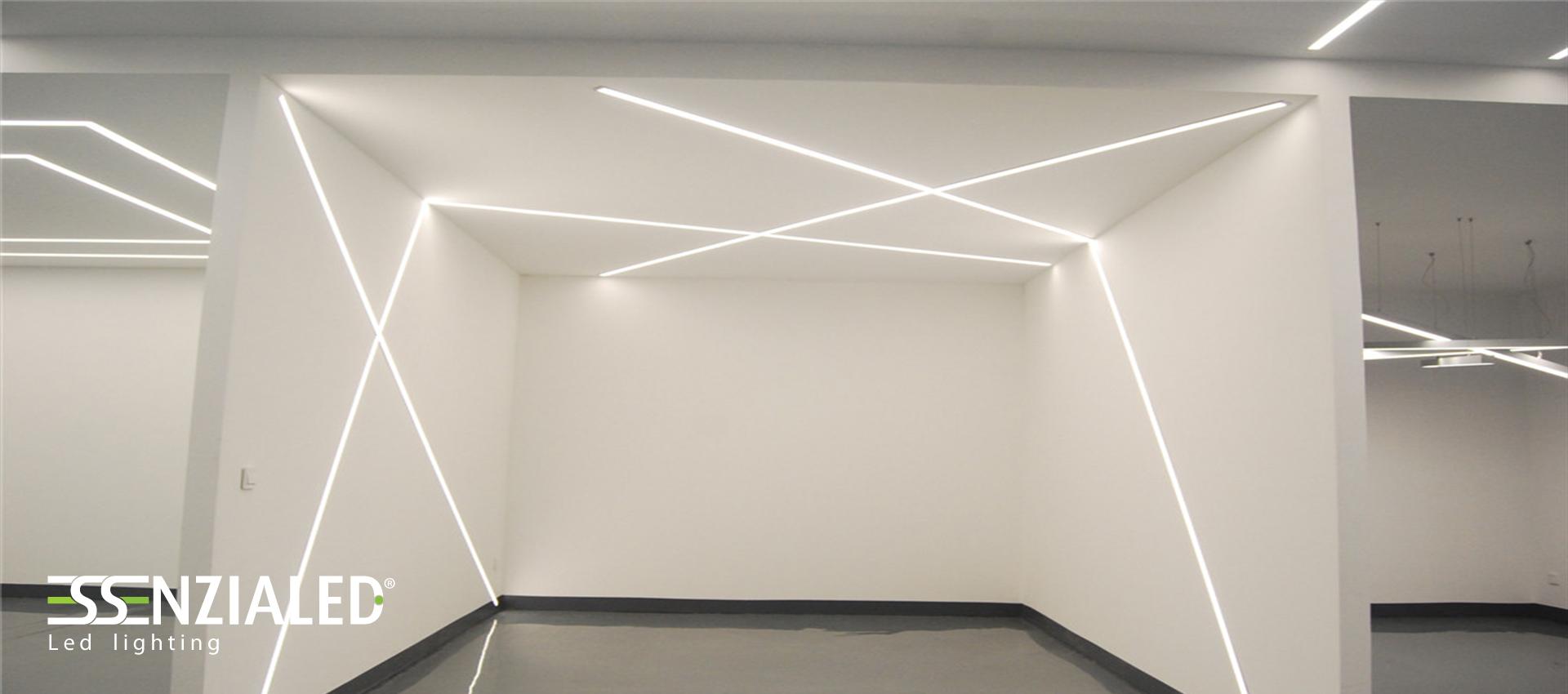 inside-tagli di luce cartongesso a led su misuraessenzialed