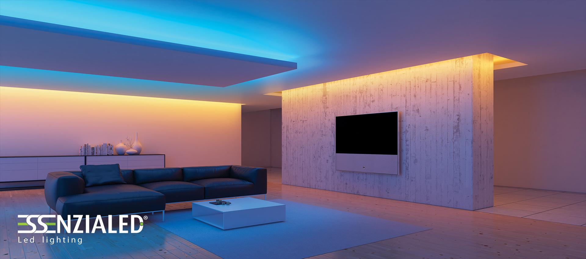 Illuminazione led per abitazioni su misura made in for Luce a led per casa