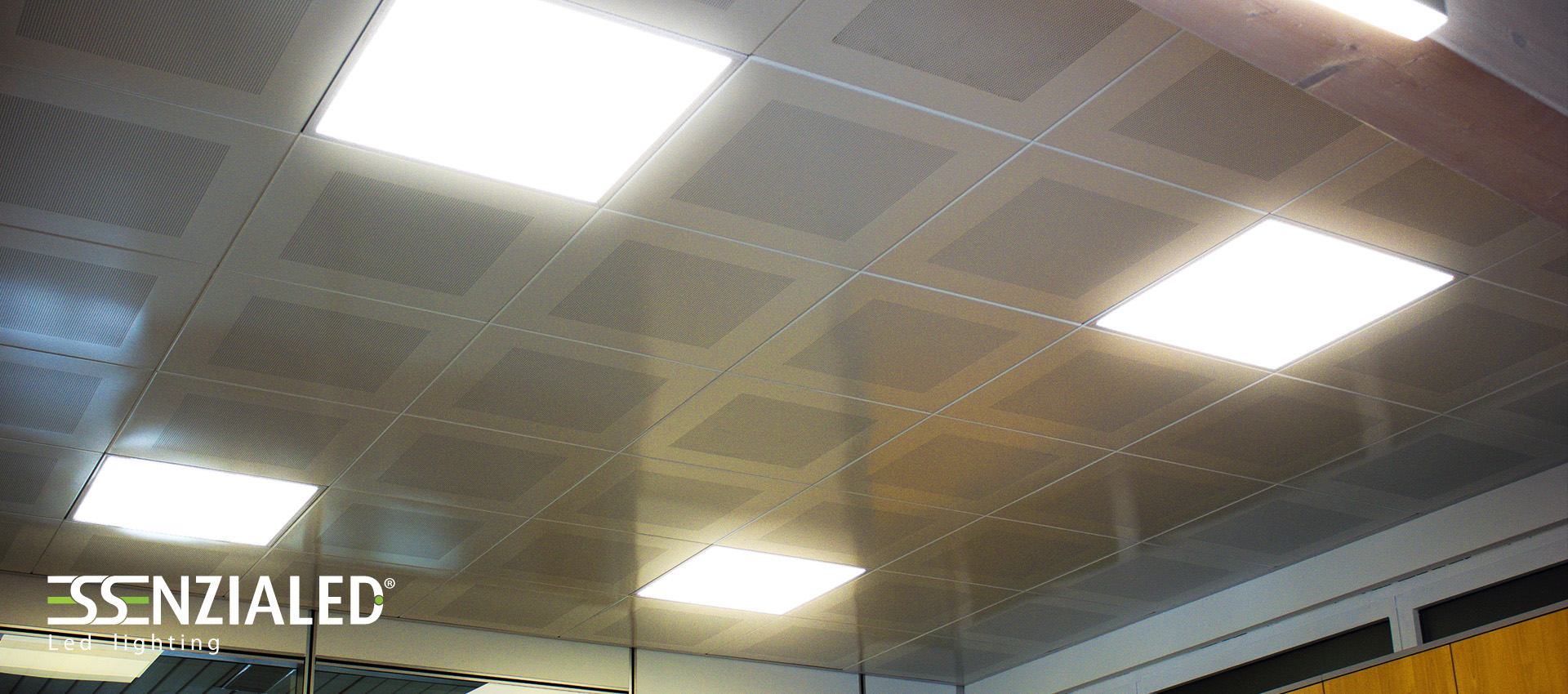 Lampade per controsoffitto 60 60 for Led controsoffitto