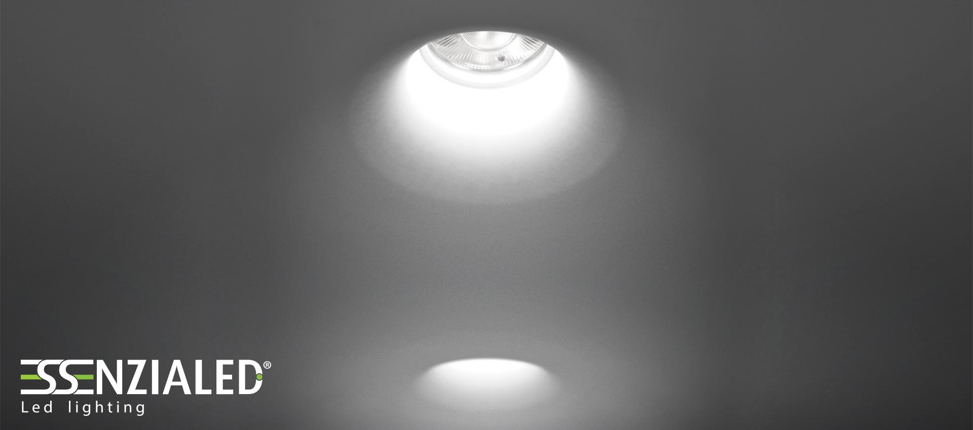 Lampade da incassoessenzialed illuminazione a led for Lampade a led da incasso