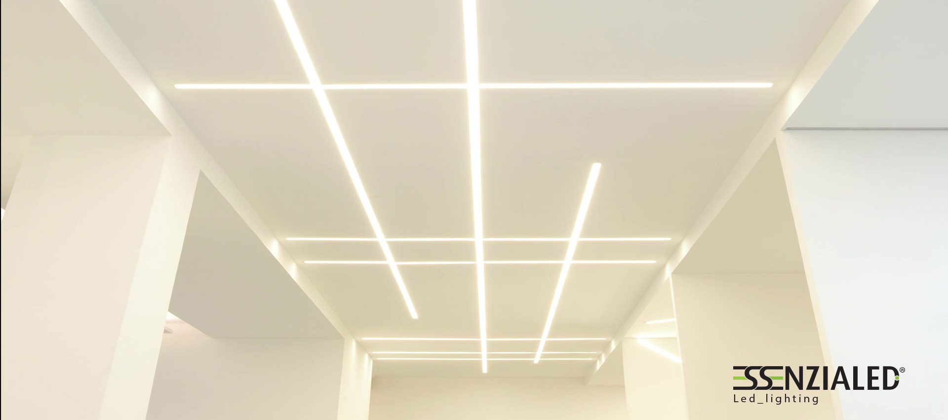 ghost linear light trimless designed to be wall-mounted in ...
