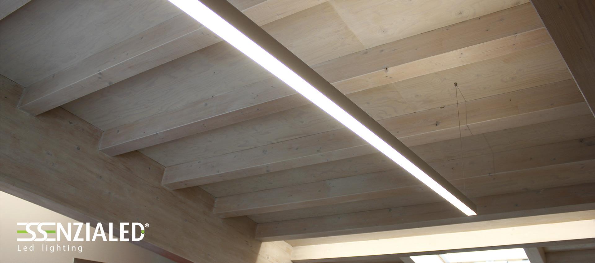 POWER IN XL - Profili a Led a sospensione - EssenzialedEssenzialed – Illuminazione a led
