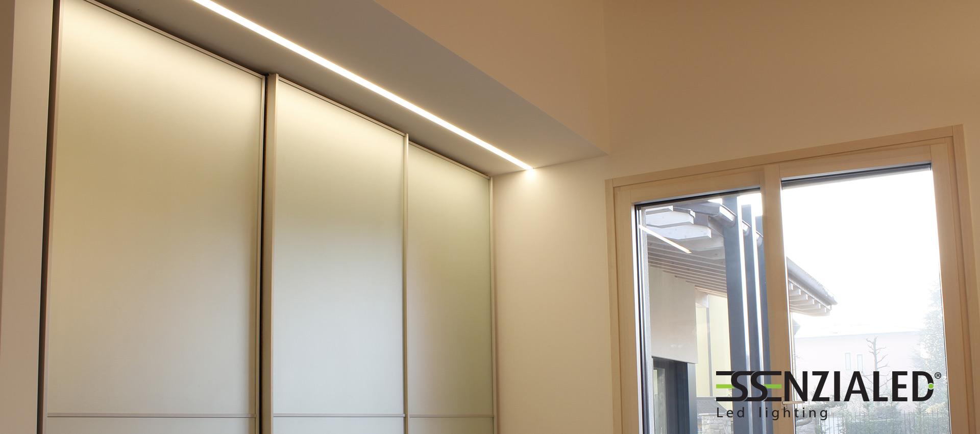 GHOST - lampada lineare trimlessEssenzialed – Illuminazione a led