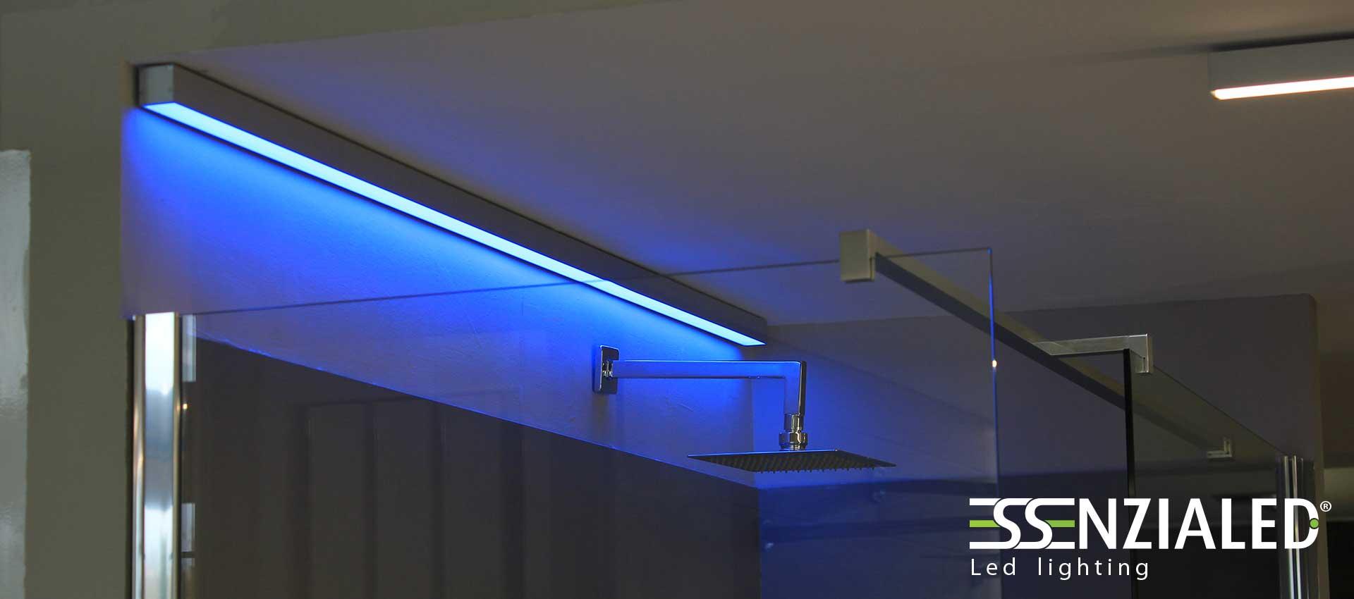 Lampade led lineari prodotte su misuraessenzialed - Lampade per doccia ...