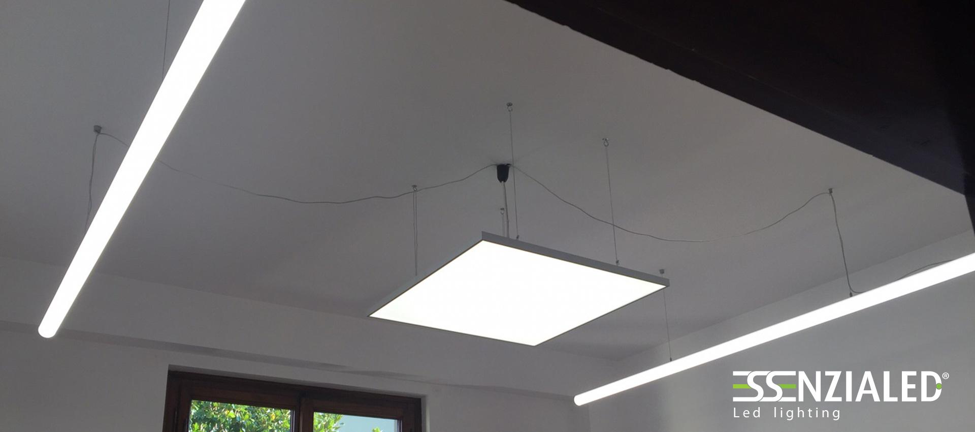 TUBE 6.0 - Tubo led sospensione tutta luceEssenzialed – Illuminazione a led