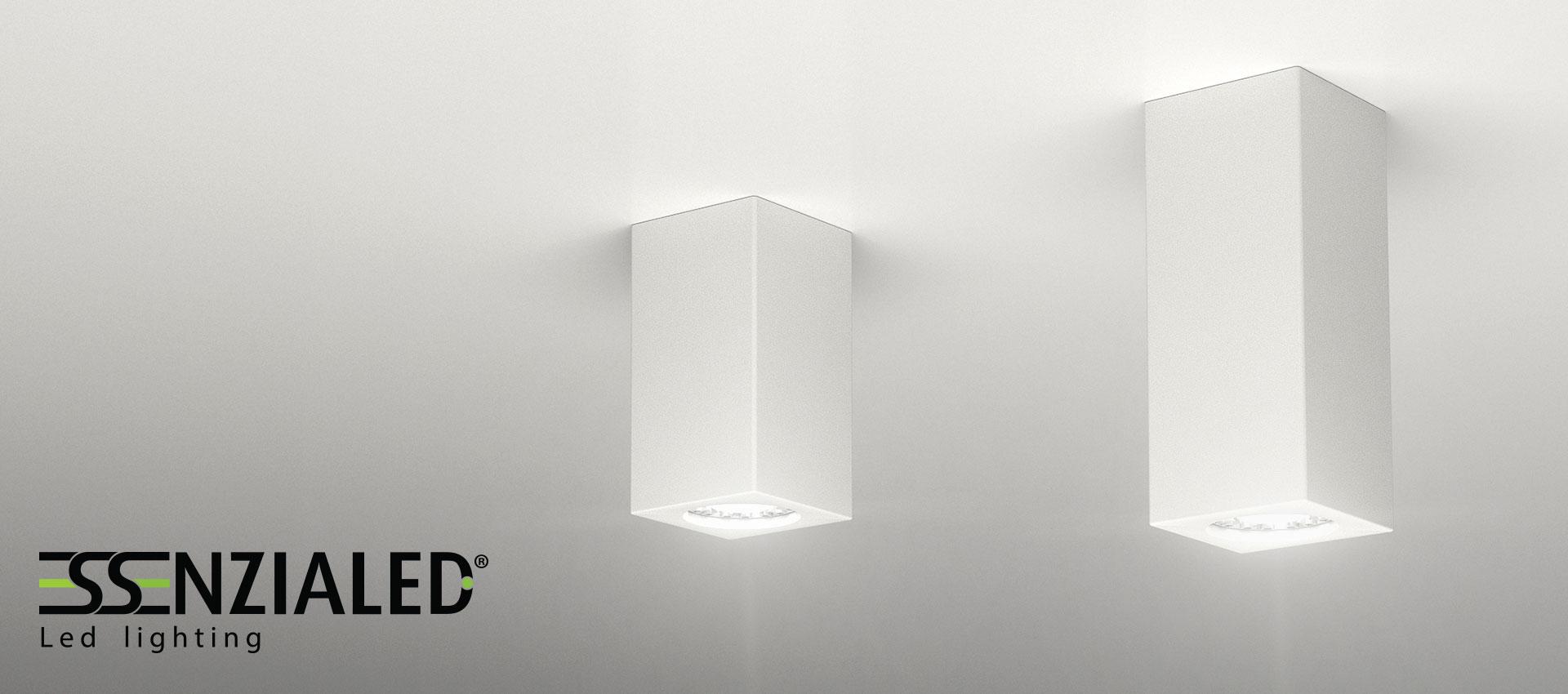 Faretti cubo gesso ~ idee di design nella vostra casa