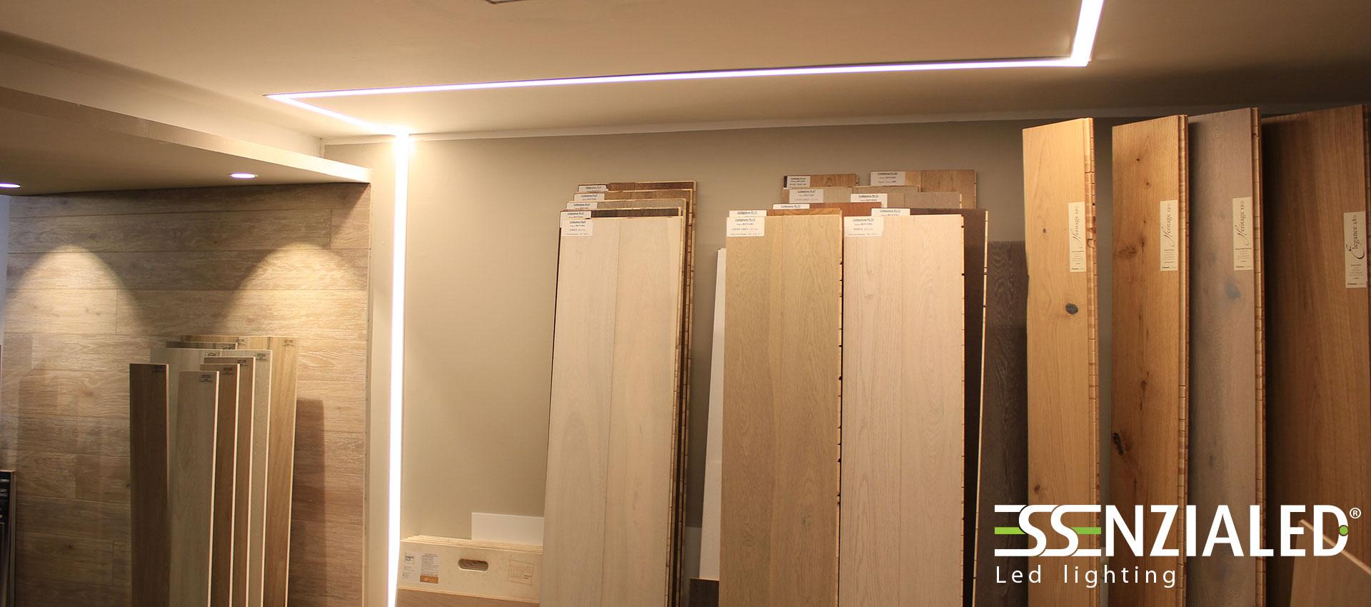 Luce Soffitto Cartongesso : INSIDE-Tagli di luce cartongesso a Led su ...