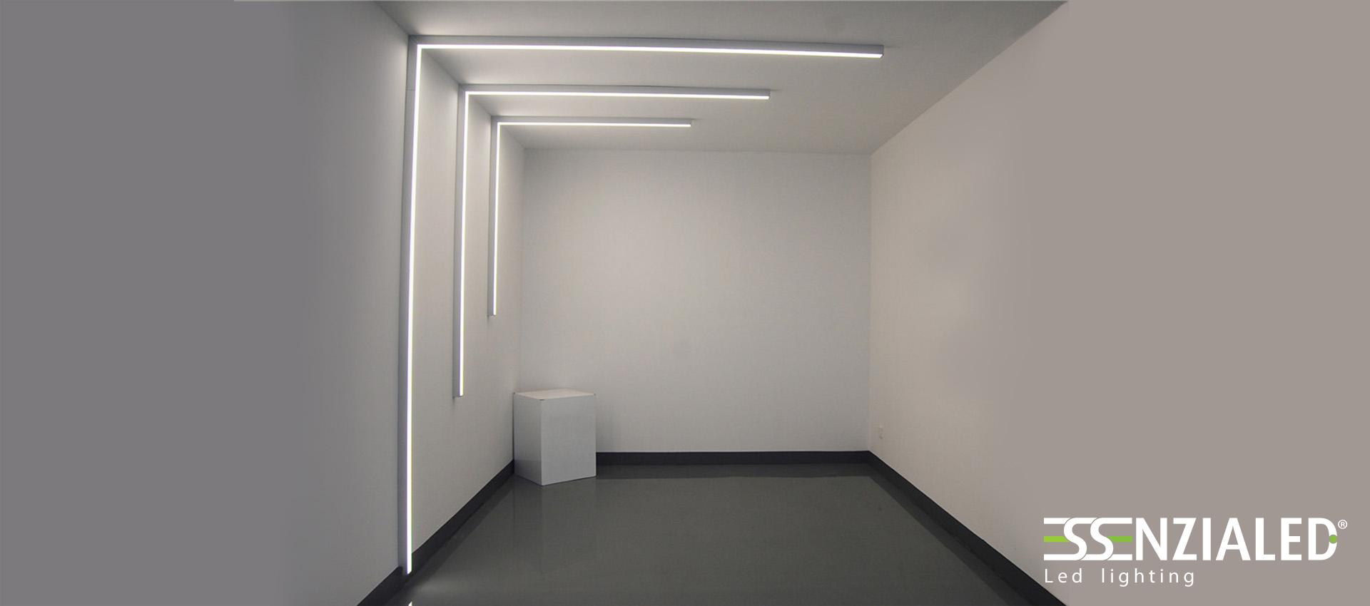 Tagli di luce a parete creati su misura in base ai tuoi for Costo lampada