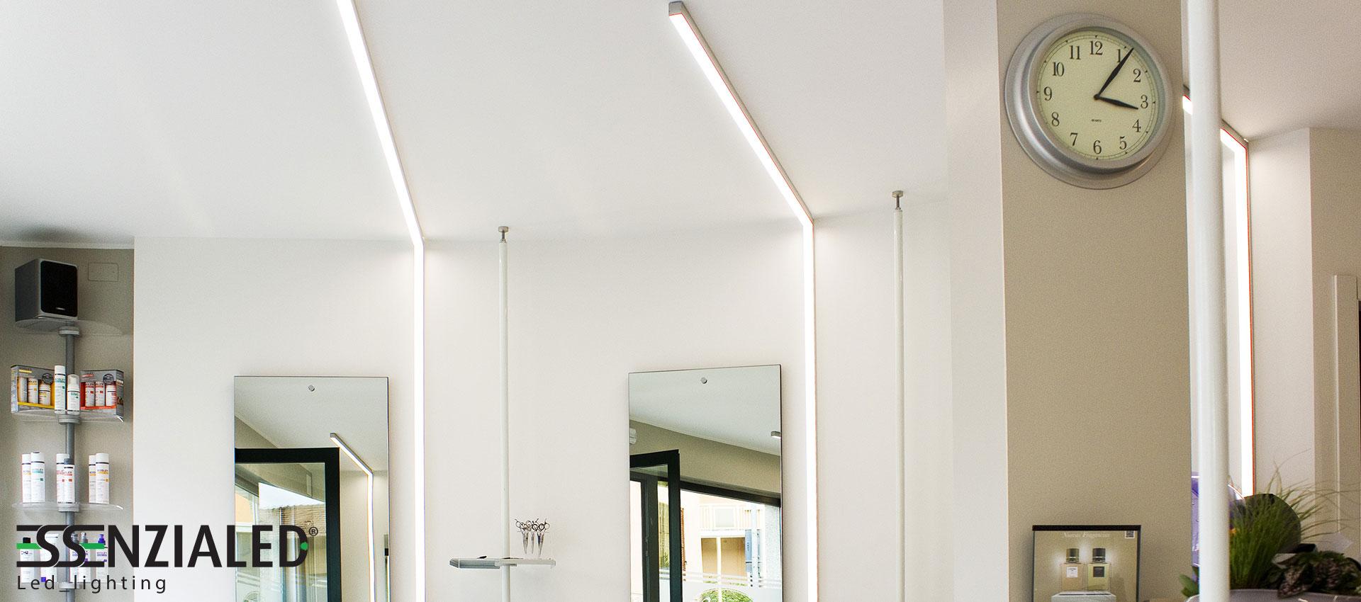 Illuminazione led parrucchieriessenzialed illuminazione - Lampadari a led per casa ...
