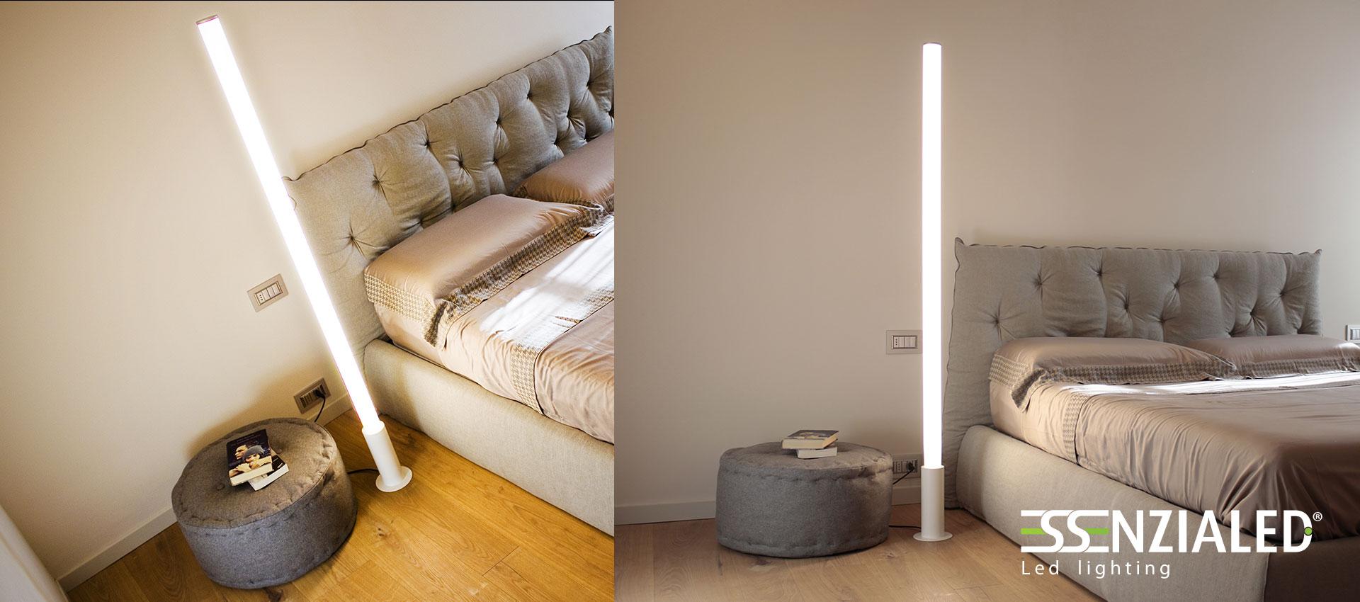 Lampade da terra Led FLUO e MINIFLUO - Essenzialed - Illuminazione a ledEssen...