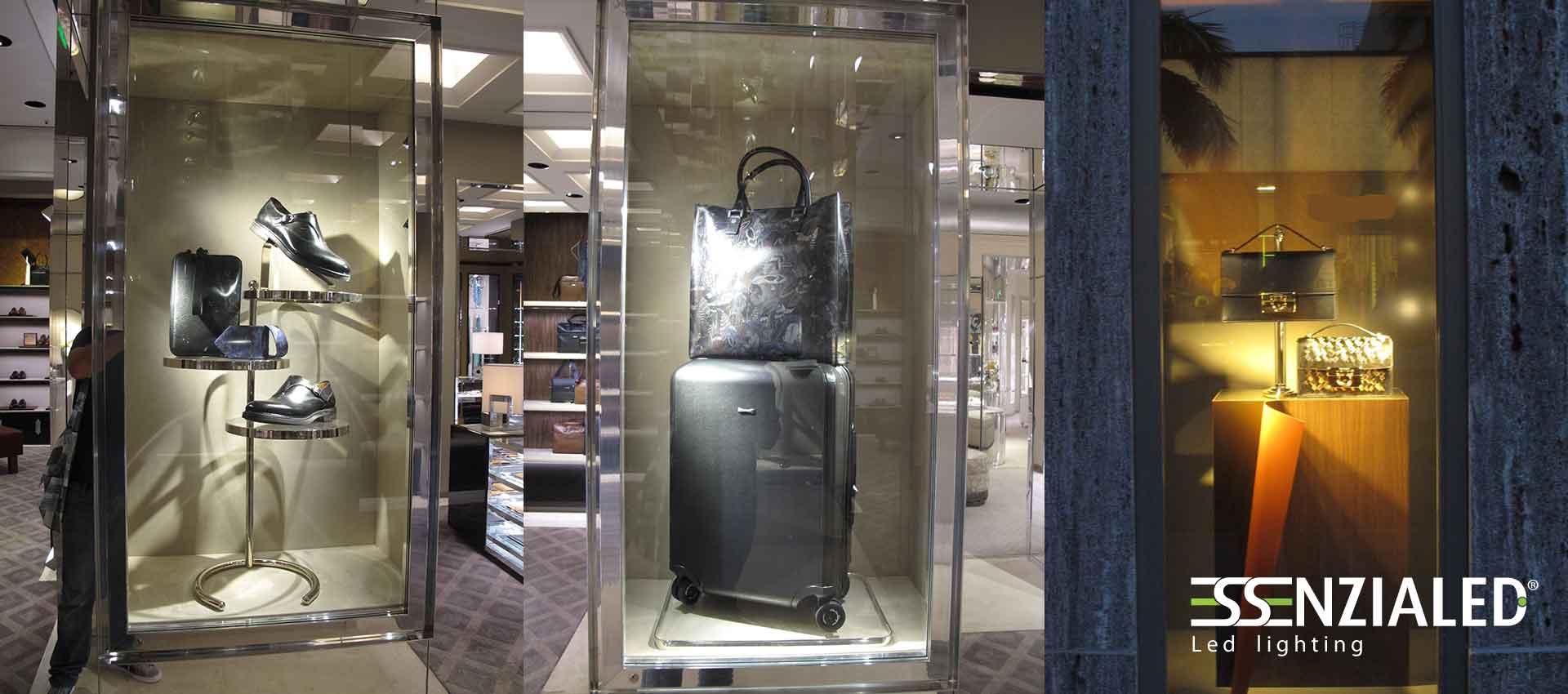 Illuminazione per negozi alta resa cromaticaessenzialed for Illuminazione negozi