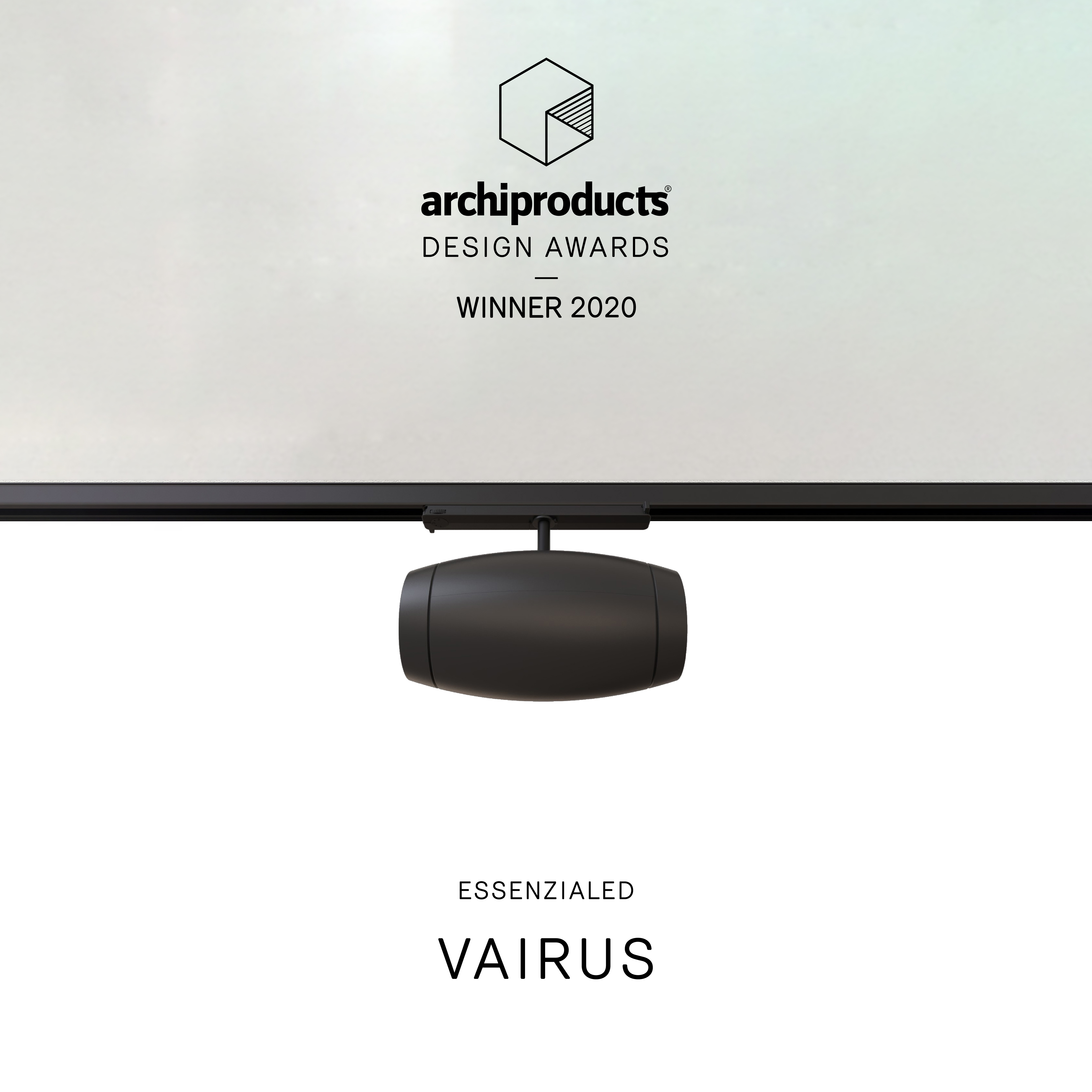 Vairus Air purifier Winner of the 2020 Archiproducts Design Awards